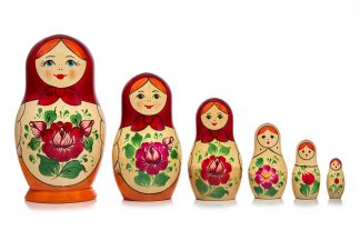 6 Pieces Matryoshka