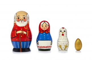 4 Pieces Matryoshka