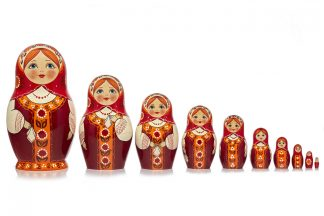 10 Pieces Matryoshka
